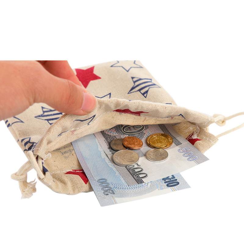 NIBESSER Cartoon Coin Purse Animal Printed Storage Bag Beam Pocket Drawstring Girls Purse For Coins Lady Money Bag Mini Pocket