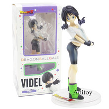 Anime Dragon Ball Z Gals Gohan Wife Videl PVC Figure Collectible Model Toy 16cm Dragon Ball Gals Videl(China)