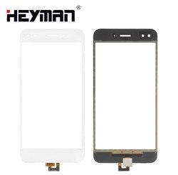 Ekran dotykowy dla huawei nova Lite (2017) P9 Lite mini  Y6 Pro (2017) SLA L02 Digitizer szklany Panel przedni czujnik szklanej soczewki w Panele dotykowe do telefonów komórkowych od Telefony komórkowe i telekomunikacja na