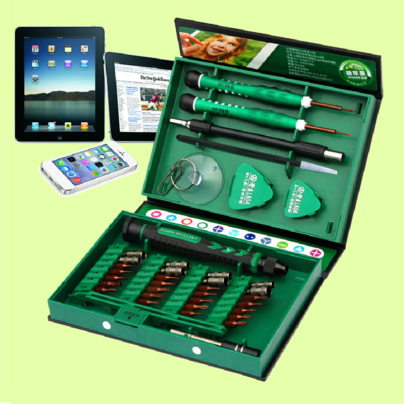 High Quality 38 in 1 Screwdriver Set Precision Repair Tools Kit S2 Alloy Steel Material Tool for Cell Phone iPhone for Notebook цена