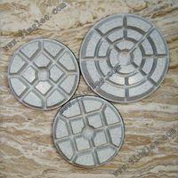 3 Inch 80mm Dry Resin Polishing Pads Terrazzo Concrete Marble Granite Ceramic Floor Polishing Pads