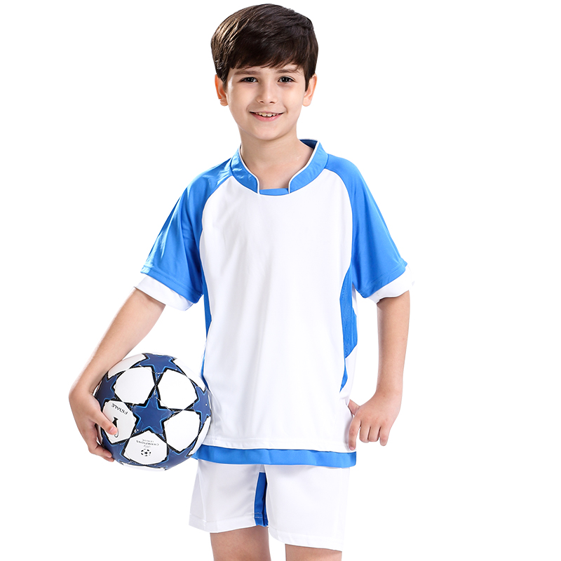 Children's football clothes for boys customized Jersey suit two piece suit training breathable uniform football clothi bonpoint платье с принтом clothi