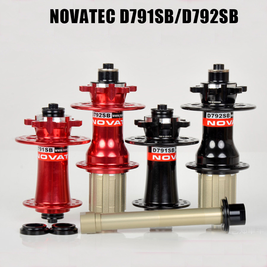 Mtb Hub Novatec D791SB D792SB Disc Brake Hub For Mountain Bike Or Graval Bike Cycle Cross boost or QR original novatec d881sb d882sb mtb downhill mountain bike hubs 4in1 15 12 142 thru 32 holes disc brake bicycle hub for am fr dh