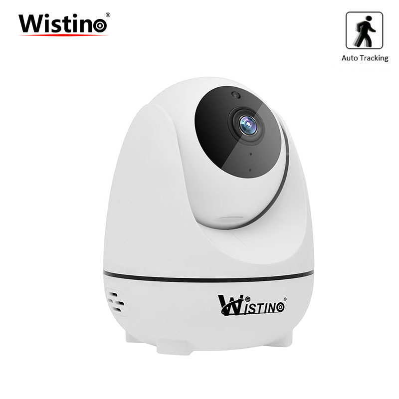 Wistino CCTV Camera Wireless 1080P IP Camera Wifi Auto Tracking Alarm Baby Monitor Surveillance Security Camera PTZ Night Vision wistino cctv 1080p ip camera wifi baby monitor wireless panoramic vr camera security baby video monitor audio ptz night vision