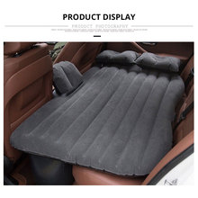 Car Inflatable Mattress Air Travel Bed Seat Cover Universal Back Seat Mattress Outdoor Soft Bedding Air Pump Auto Accessories