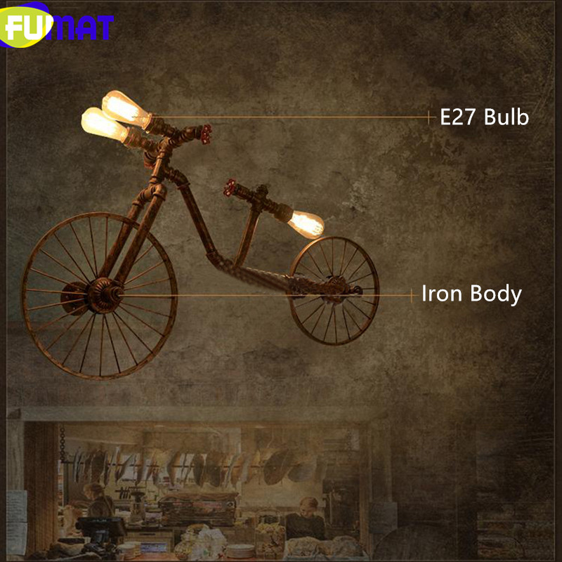 Bicycle Wall Lamps 13