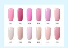 10ml Romantic Pink colours home UV nail varnishes gel manicure smalto semi permanente unghie nail art primer for bridal makeup