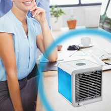 Arctic Air Cooler  Small Air Conditioning Appliances Mini Fans Air Cooling Fan Summer Portable Strong Wind Air Conditioning