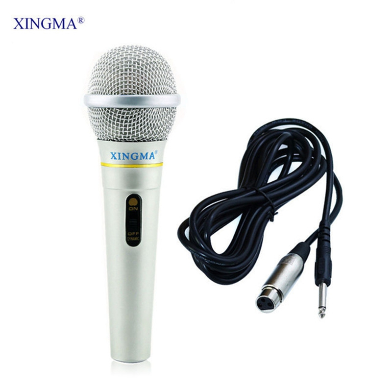 XINGMA AK-319 Professional Karaoke Dynamic Microphone Wired Handheld Microphones Mic For KTV Sound Studio Audio Voice Recording