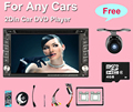 Автомобильный DVD плеер с СЕНСОРНЫМ Радио Bluetooth 2 din universal для X-TRAIL juke для nissan Qashqai x-trail HD Стерео Радио Bluetooth USB/SD