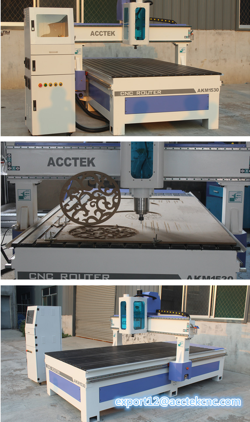 Three heads 3d relief cnc wood router china mainland wood router - Cnc Router Machine 3d 1530 3 Axis Cnc Wood Router Machine With T Slot