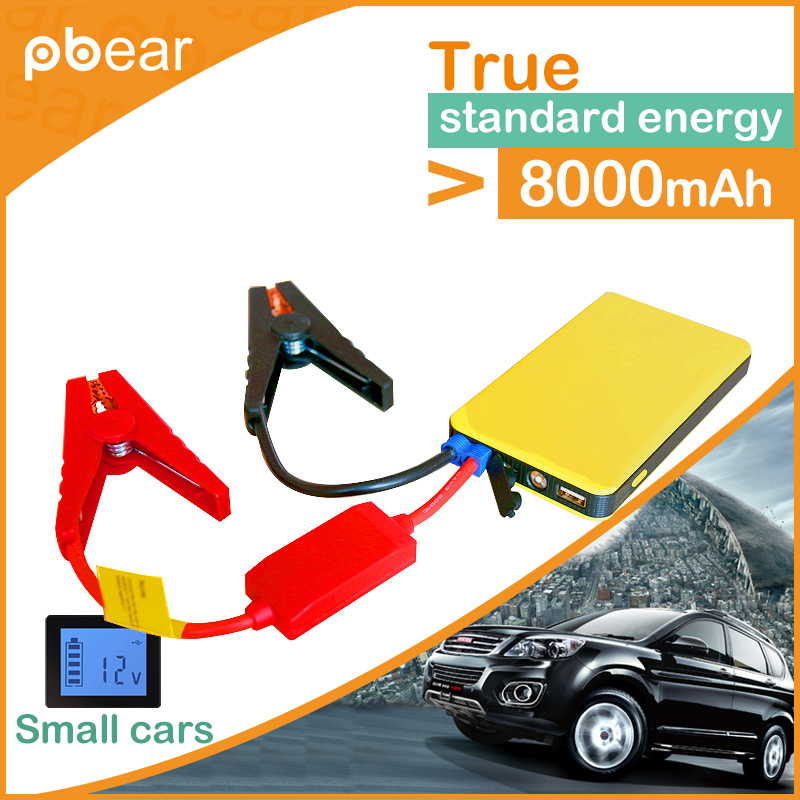 Pbear 108000mAh Car Jump Starter Portable Emergency Battery Charger High Capacity for Petrol Car for phone/tablet PC Power bank car charger for tablet pc cube u10gt u10gt2 aoson m19 more black dc 9v