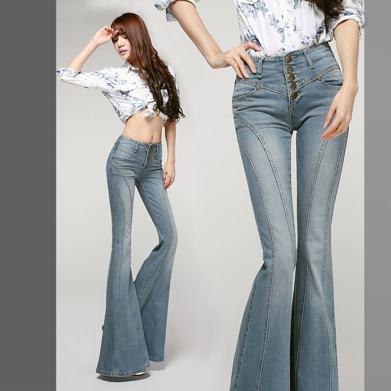 big bell bottom jeans Picture - More Detailed Picture about Autumn ...