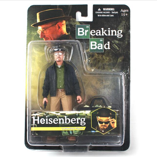 MEZCO Breaking Bad Heisenberg Walter White PVC Action Figure Collectible Figure Model Toy Classic Toys 6 new hot christmas gift 21inch 52cm bearbrick be rbrick fashion toy pvc action figure collectible model toy decoration