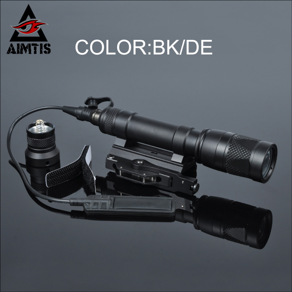 AIMTIS M620 M620V LED Scout Light M31 QD Mount Softair Weapon Flashlight Lanterna Pistola fit 20mm Rail Gun Accessoiry wipson sf m600b mini scout light for tactical gun flashlight led weapon light pistol flashlight with remote tail switch