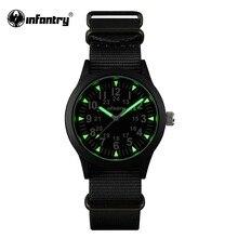Армейские часы для мужчин с подсветкой, тактические кварцевые мужские часы, лучший бренд класса люкс,, армейские спортивные часы, ремешок Nato, Relogio Masculino