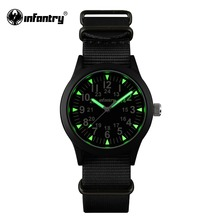 INFANTRY Military Watch Men Luminous Tactical Quartz Mens Watches Top Brand Luxury 2020 Army Sport Nato Band Relogio Masculino