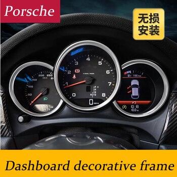 Auto Styling Innen Dashboard Dekorative Abdeckung Rahmen Streifen 3d Aufkleber Für Porsche Macan Ca