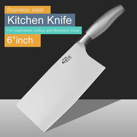 Free Shipping Chinese Style Sharp Kitchen Knives Stainless Steel Slicing Knife Vegetables Fruit Meat Cutting Mikale