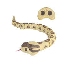 Electric Snake Creative RC Snake Toy Tricks Toy 2.4G Infrared Control ABS Remote Control RC Rattlesnake