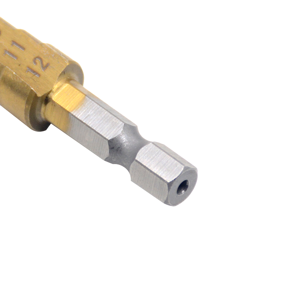 Hot Koop 1 stks / partij Titanium Stap Boren 3-12 boor HSS Power - Boor - Foto 3