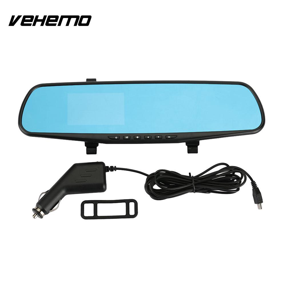 Vehemo 3.2 Inches Camcorder Car Camera Car Electronics DVR Universal Video Recorder Driving Recorder Dash Cam