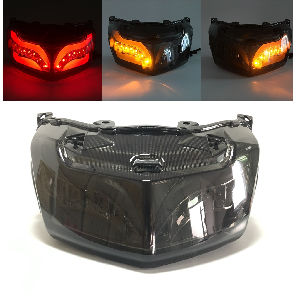 <font><b>Modified</b></font> Motorcycle Parts Taillight Tail Light LED Taillamp Rear Lamp for <font><b>Yamaha</b></font> <font><b>Nmax</b></font> <font><b>155</b></font> Nmax155 Nmax125 2016 2017 2018 2019 image