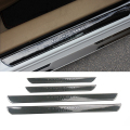 Carbon Fiber Style Scuff Plate Door Sill Car Accessories For Peugeot 206 208 207 308 508 308 3008 2008