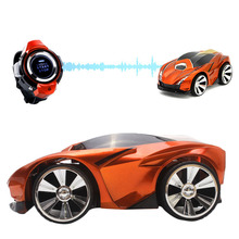 2 4G 6CH Racing Toy Car Command Voice Car Watch Remote Control Car