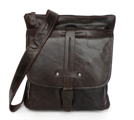 ФОТО Vintage Genuine Leather Men Messenger Bags Natural Cowskin Casual Crossbody Men's Bag Business Shoulder Bag for man #MD-J7045