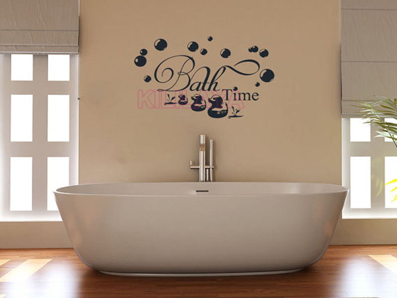 Captivating DIY Vinyl Wall Stickers For Bathroom Shower Room Bubble Duckling Mural Wall  Decals Sticker Home Decor House Decoration Wall Art In Wall Stickers From  Home ...
