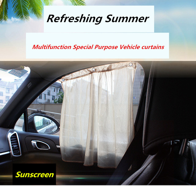Curtains Ideas car interior curtains : Aliexpress.com : Buy 2pcs/set Auto Sun Visors Sucker Car summer ...
