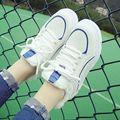 Новый теннис женщина для женщин обувь повседневная дамы женщин дизайнер роскошные Квартиры платформы дышащие обувь весна осень женской обуви