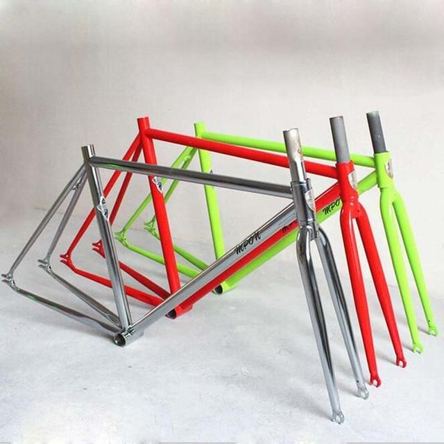 4130 chrom molybd n stahl festrad fahrradrahmen die rennrad 700c 52 rahmen festrad. Black Bedroom Furniture Sets. Home Design Ideas
