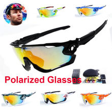 Cycling Sunglasses Polarized Men Outdoor Mountain Biking Glasses Windproof Motorcycle Goggles 5 Lens Cycling Gafa Ciclismo
