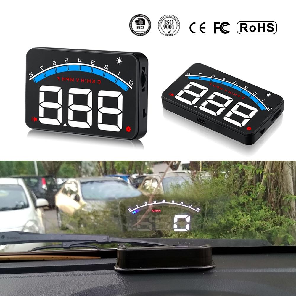 XYCING M6 HUD 3.5 pulgadas Pantalla de proyección de parabrisas del - Electrónica del Automóvil