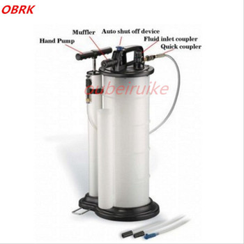 Export Quanlity 9.0L Liter Vacuum Manual & Pneumatic Fluid & Oil Extractor