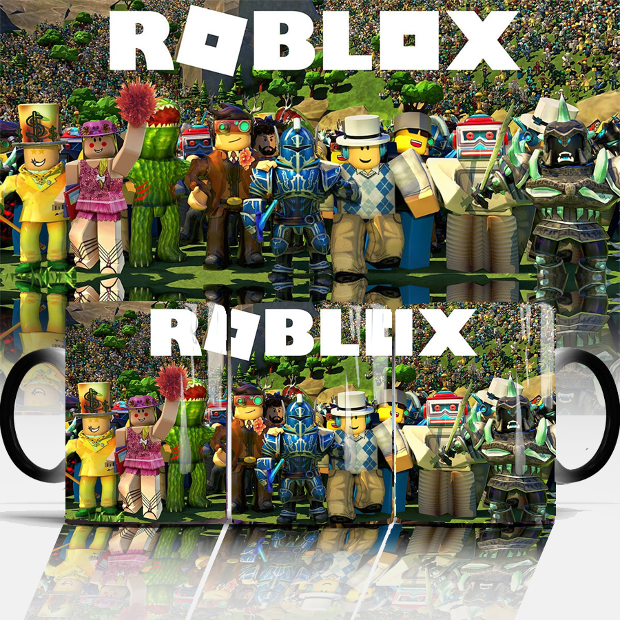 Roblox game Coffee Mug Creative 350ml color changing Mugs moring milk mug  cup best gift for your boy friend