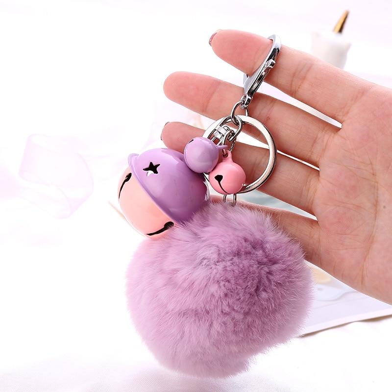 Fur Ball Key Chain (13)