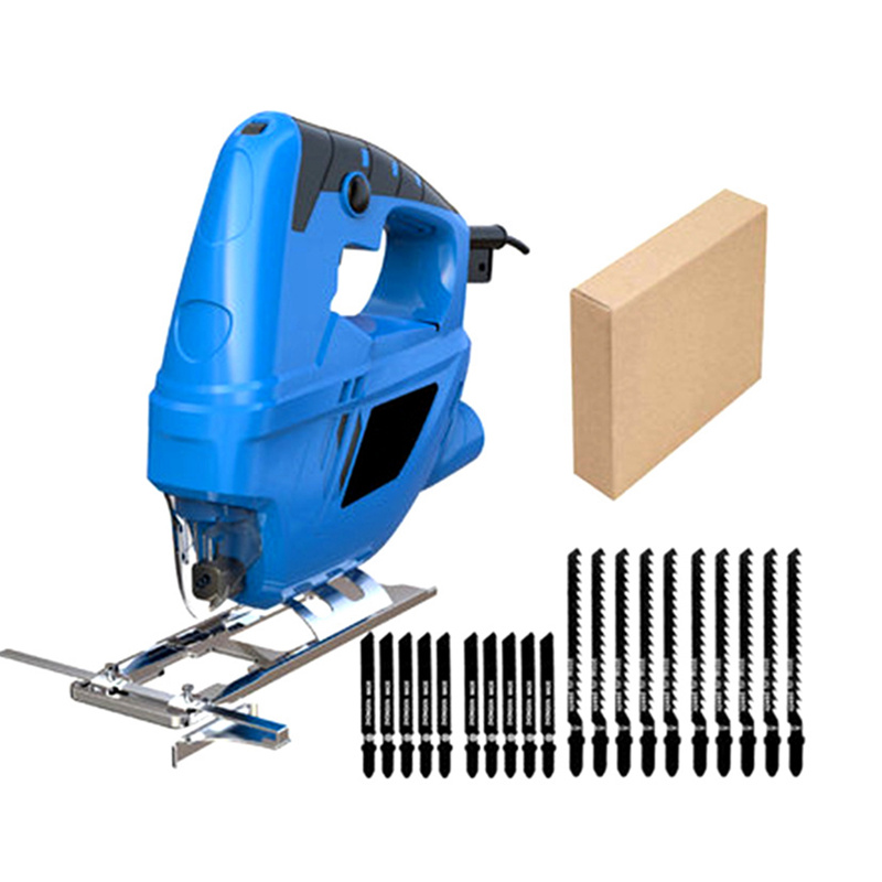 DIY fretsaw electric curve saw plus saw blade household electric woodworking saw multi-function dust free sawing machine carton 1pc 5804 li 12 mini electric curve sawing wood working reciprocating saw with led