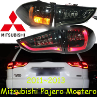 Mitsubish Pajero Taillight Montero SUV 2011 20136 Free Ship 4pcs Set Pajero Rear Light Montero Lancer