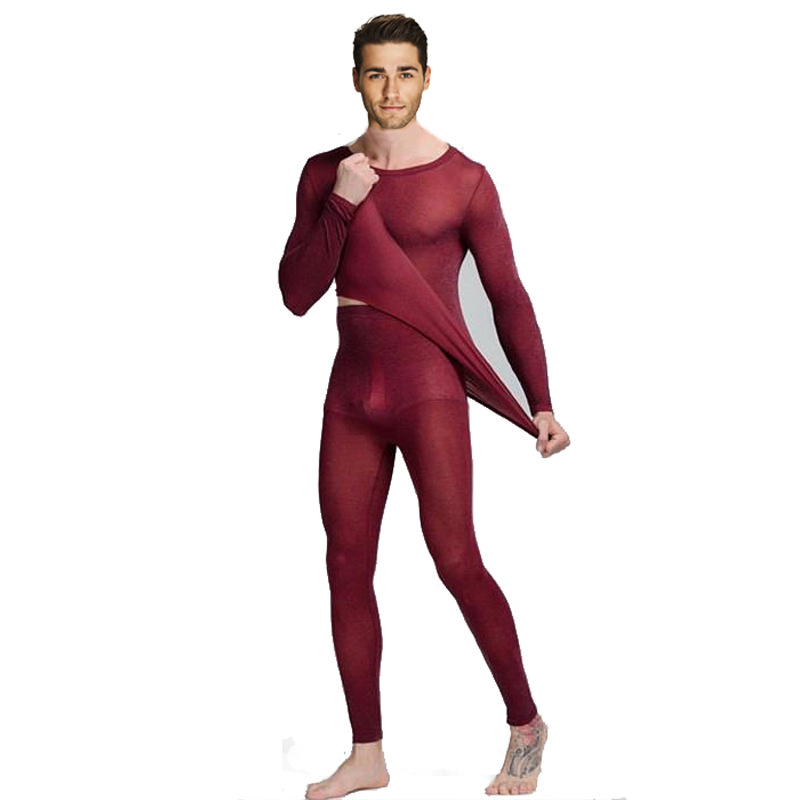 Queenral Thermal Underwear Men Women Long Johns Women Winter Ultra Thin Seamless Shape Slimming Thermal Underwear Male Female 3
