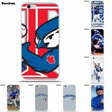 e208a98fb3b Soft Hipster Case Toronto Blue Jays Mlb For iPhone 4 4S 5 5C SE 6 6S 7 8  Plus X Galaxy S5 S6 S7 S8 Grand Core II Prime Alpha