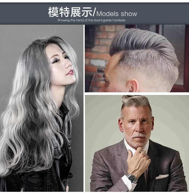 Detail Feedback Questions about Mofajang Hair Dye Gray Color Hair ...