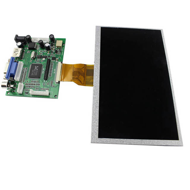 "Elecrow التوت بي 3 عرض 7 بوصة وحدة LCD 800x480 HDMI واجهة النقاط 7 ""لون TFT عرض ل التوت بي الموز بي"