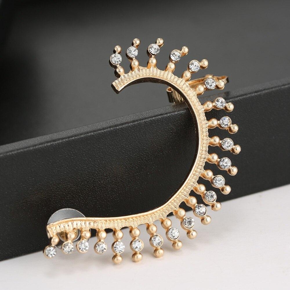 Aliexpress Free Shipping New Gold Earrings Cuff Full Full Ear Covered  Earrings Topearrings