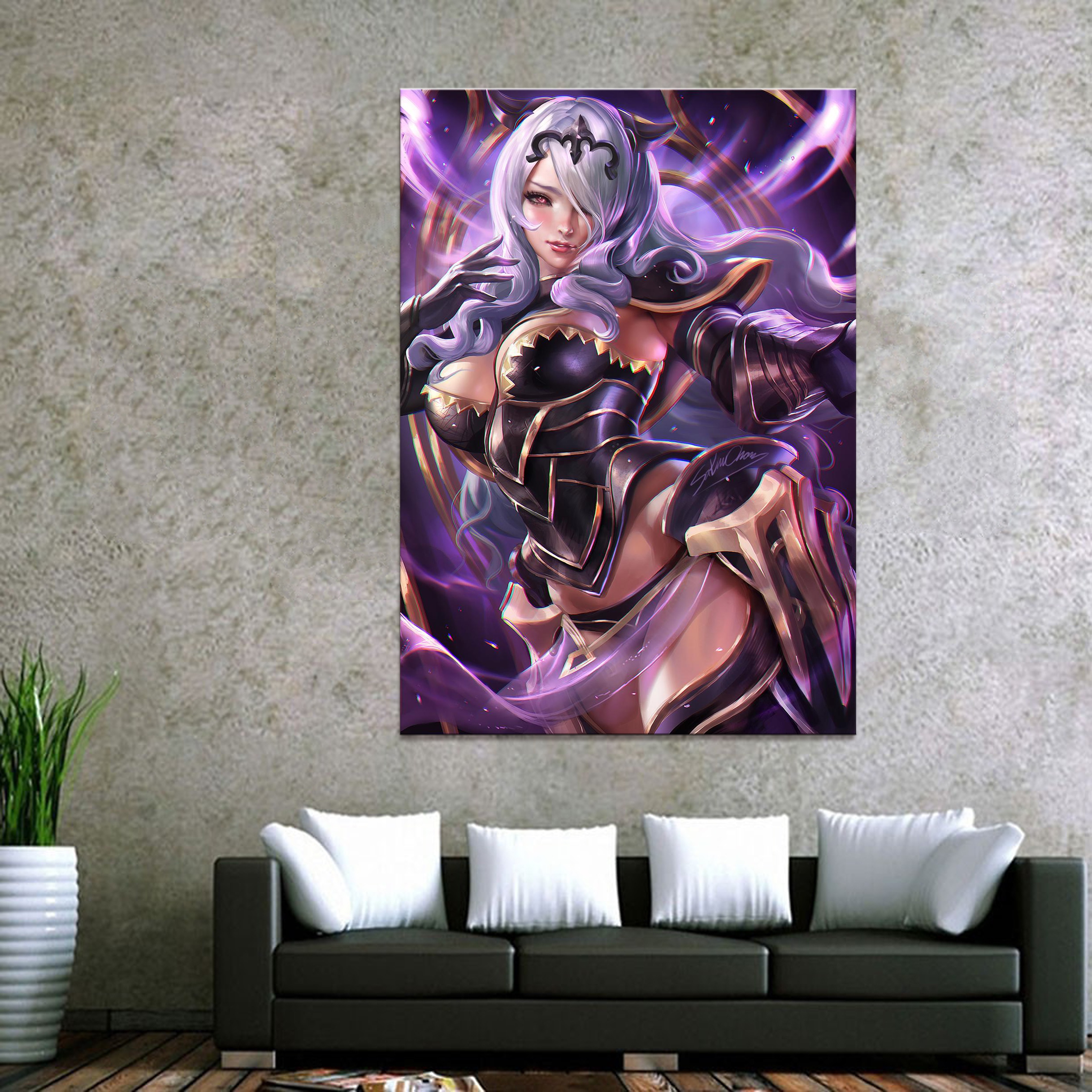 Home Decor Canvas Camilla fire emblem Game 1 Piece Anime Sexy girl Art Poster Prints Picture Wall Decoration Painting wholesale in Painting Calligraphy from Home Garden