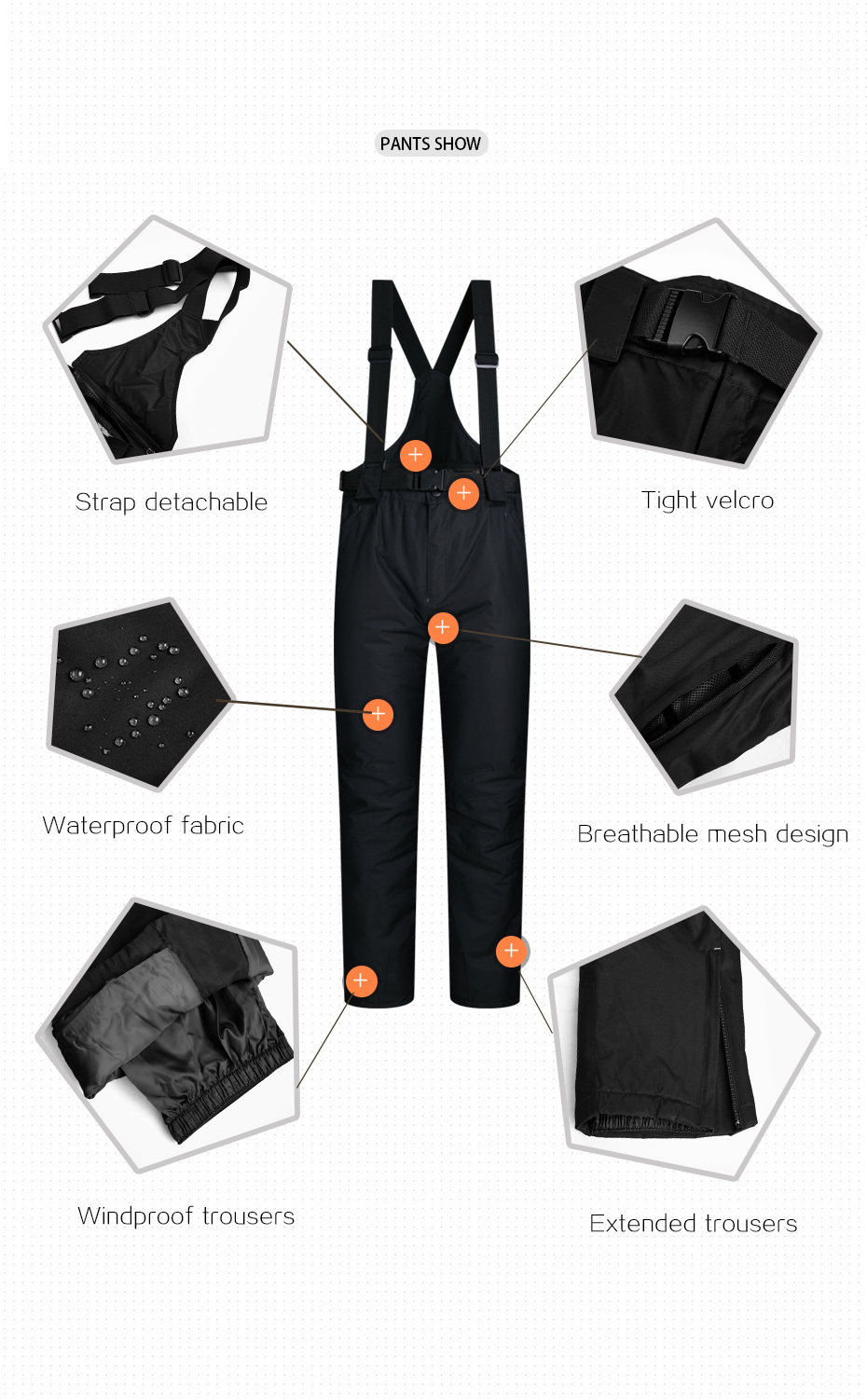 8117050e 2018 MUTUSNOW hombres chaqueta de esquí pantalones Snowboard a prueba de  viento impermeable al aire libre deporte desgaste Super cálida ropa de ...