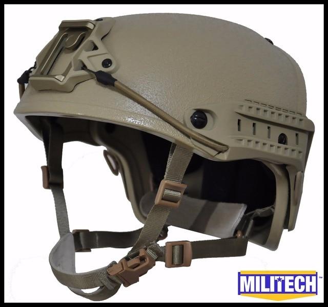 M/LG DE Tan NIJ level IIIA 3A Air Frame Kevlar Bulletproof Airframe DEVGRU Helmet With Ballistic Test Report 5 Years Warranty