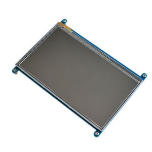 Image 2 - شاشة 7 بوصة راسبيري pi 3 B تعمل باللمس 1024*600 7.0 بوصة IPS بالسعة شاشة LCD تعمل باللمس ، واجهة HDMI ، يدعم أنظمة مختلفة